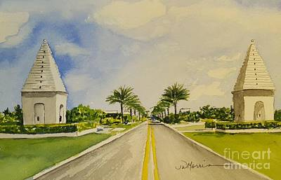 Painting - Alys Beach, Florida by Jill Morris
