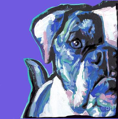 Painting - Am An American  Sweet Bully by Lea