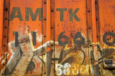 Vintage College Subway Signs Color - Am Tk by Karol Livote