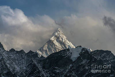Photograph - Ama Dablam From Kalla Patthar by Mike Reid