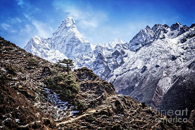 Photograph - Ama Dablam by Scott Kemper