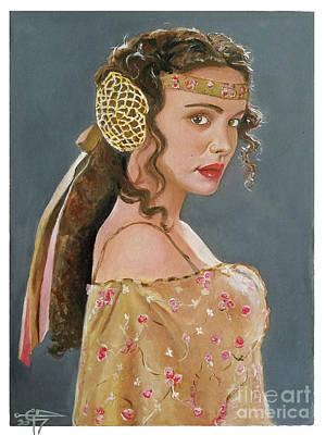 Painting - Amadala by Tom Carlton
