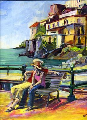 Painting - Amalfi Amore by Karen Apostolico