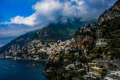 Photograph - Amalfi Coast At Positano by Marilyn Burton