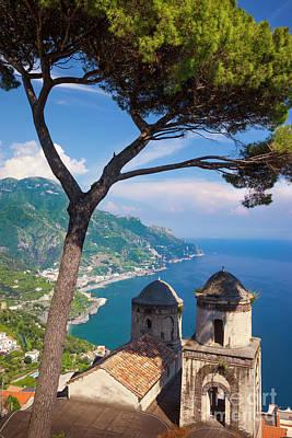 Photograph - Amalfi Coast At Ravello by Brian Jannsen