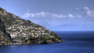 Photograph - Amalfi Coast by CR  Courson