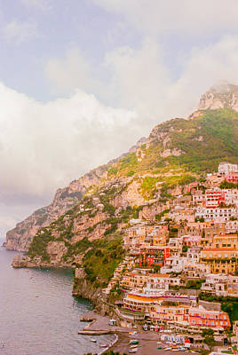 Coasts Photograph - Amalfi Coast Italy 2 by Ariane Moshayedi