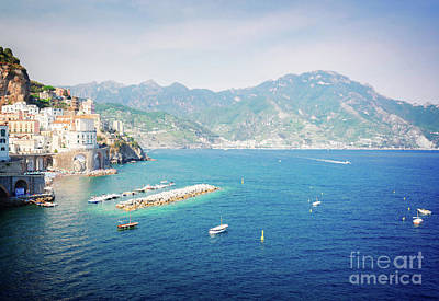 Photograph - Amalfi Coast, Italy IIi by Anastasy Yarmolovich
