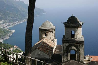 Kids Alphabet - Amalfi Coast by John F Tsumas