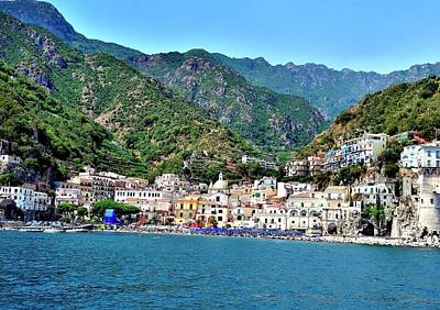From The Kitchen - Amalfi Coast O by Gerald Blaine
