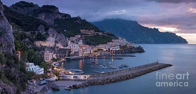 Photograph - Amalfi Dawn by Brian Jannsen