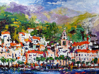Painting - Amalfi Italy by Ginette Callaway