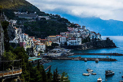 Photograph - Amalfi Italy by Marilyn Burton