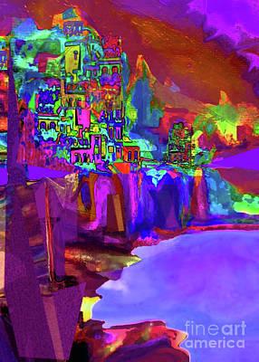 Digital Art - Amalfi No 1 by Zsanan Narrin