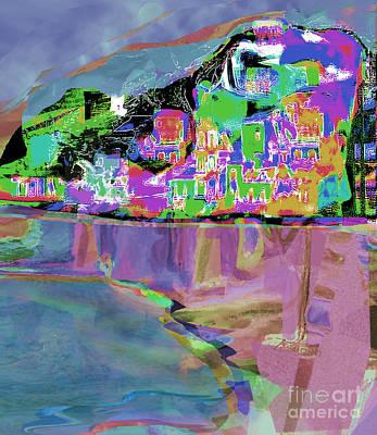 Digital Art - Amalfi No.3 by Zsanan Narrin