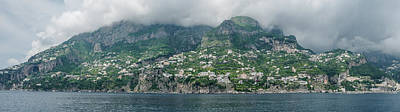 Photograph - Amalfi Panorama by Jocelyn Kahawai