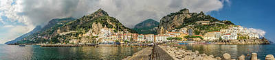 Art Print featuring the photograph Amalfi by Steven Sparks