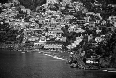 Amalfi's Positano Art Print by Eric Tressler