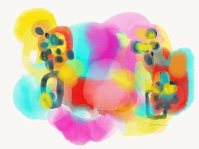 Painting - Amalgam 3 by Cristina Stefan
