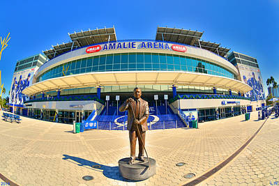 Photograph - Amalie Arena by Lisa Wooten