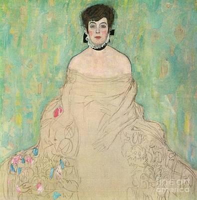 Klimt Painting - Amalie Zuckerlandl by MotionAge Designs