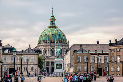 Photograph - Amalienborg by Michael Niessen