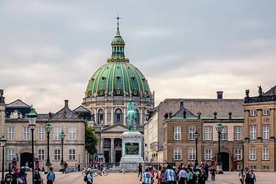 Photograph - Amalienborg by Michael Niessen