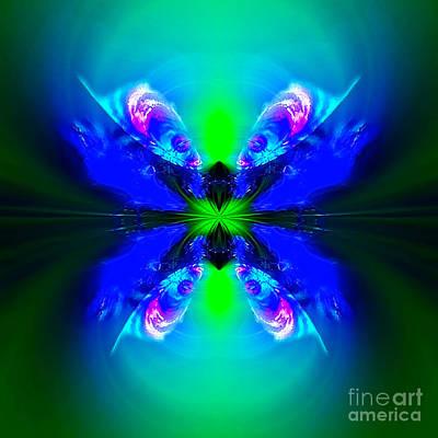 Blue Healer Digital Art - Amaltheia Brighthorn by Raymel Garcia