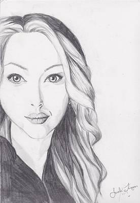 Amanda Drawing - Amanda Seyfried  by Sarah Firezar