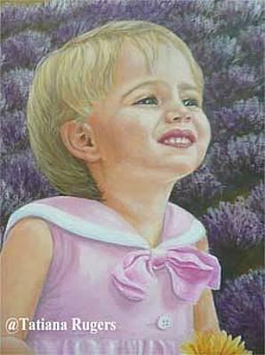 Ruger Painting - Amanda by Tatiana Rugers