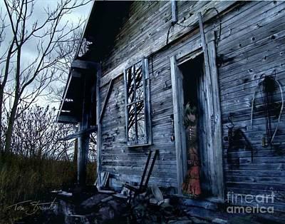 Haunted House Digital Art - Amanda by Tom Straub