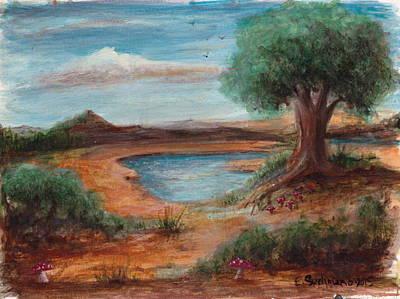 Amanita Bay Art Print by Eric Suchman