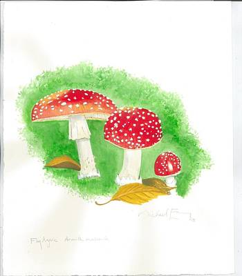 Painting - Amanita by Michael Earney