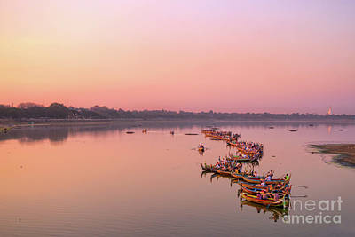 Photograph - Amarapura by Delphimages Photo Creations
