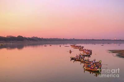 Photograph - Amarapura by Delphimages Photo Creations