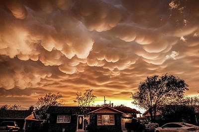 Photograph - Amarillo Mammatus by Scott Cordell