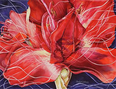 Amaryllis 1 Art Print
