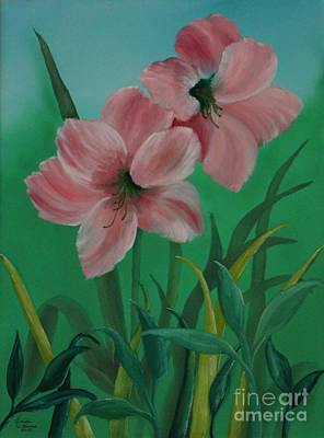 Amaryllis By Morning Original by Louise Williams