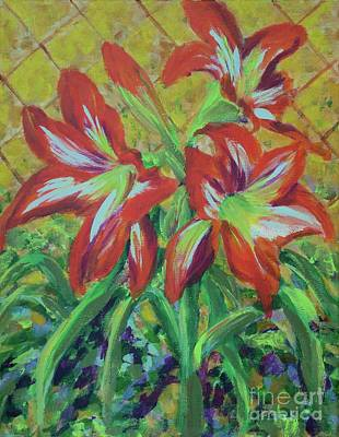 Painting - Amaryllis by Gail Kent