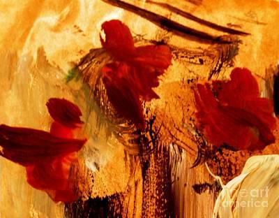 Painting - Amaryllis by Nancy Kane Chapman