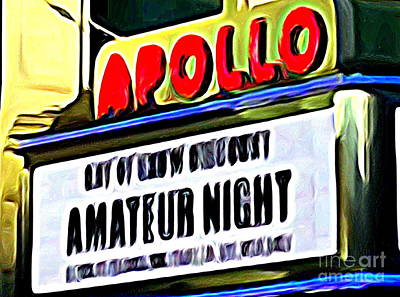 Apollo Theater Photograph - Amateur Night by Ed Weidman