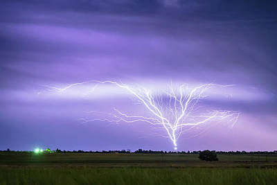 Photograph - Amazing Anvil Lightning Creepy Crawlers by James BO Insogna