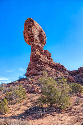 Photograph - Amazing Balanced Rock by John M Bailey