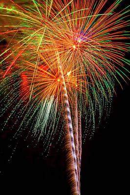 Photograph - Amazing Blazing Fireworks by Garry Gay