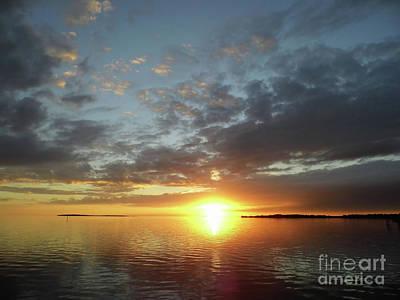 Photograph - Amazing Cedar Key Sunset by D Hackett