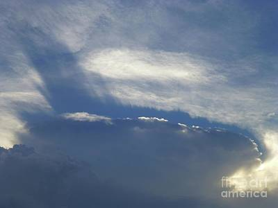 Photograph - Amazing Cloud by Barbie Corbett-Newmin