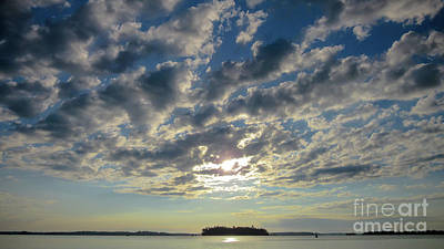 Photograph - Amazing Cloud Formation by Cheryl Baxter