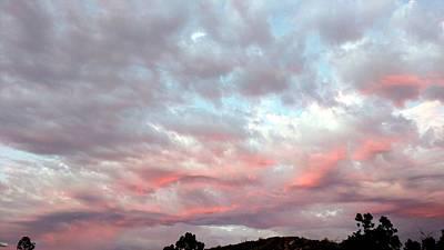 Photograph - Soft Clouds by Richard Yates