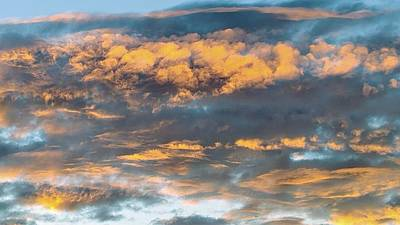 Photograph - Clouds Of A Different Color by Richard Yates