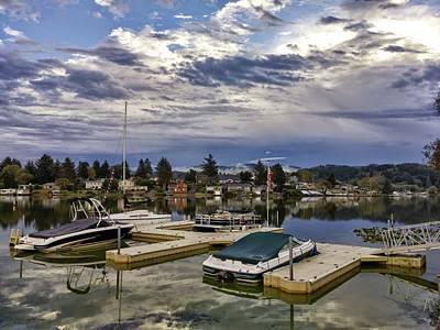 Photograph - Devils Lake Oregon by Richard Yates